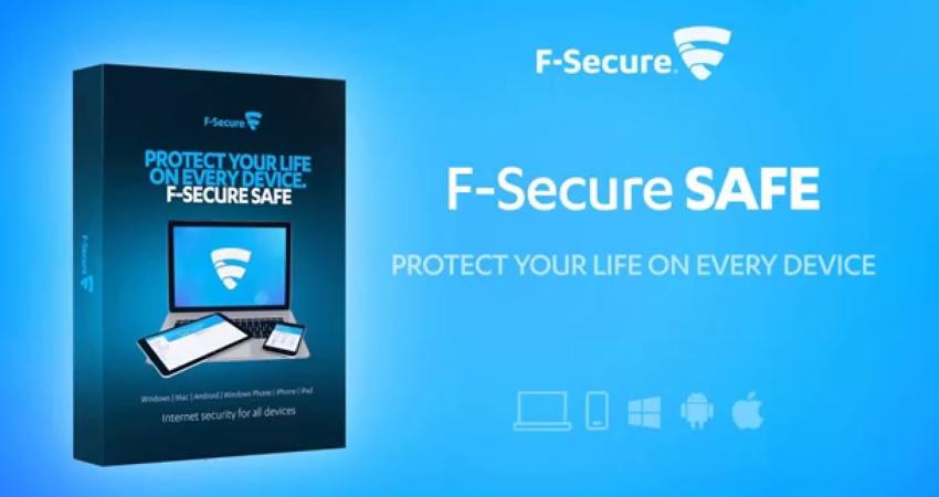 Antivirus software F-Secure SAFE