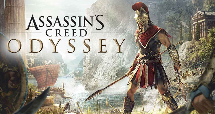 Assasin's Creed Odyssey game for Playstation 4