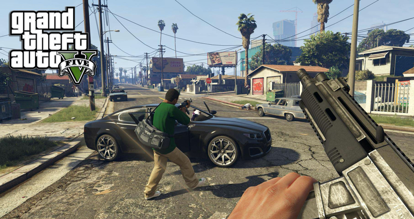 Grand Theft Auto V for Playstation 4