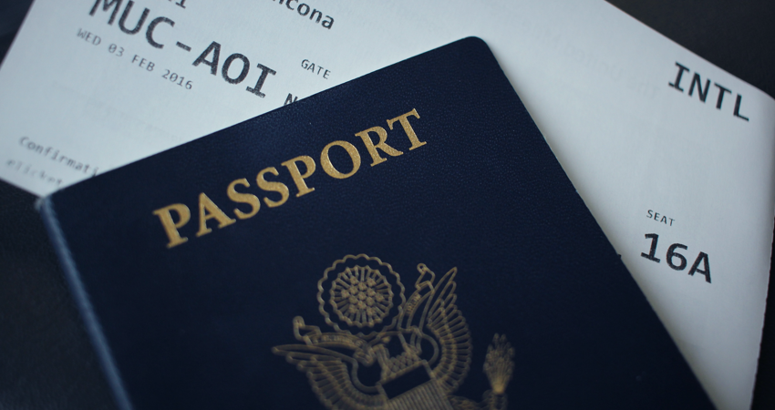 travel - passport and travel documents